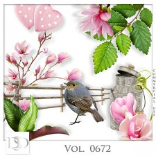 Vol. 0672 Nature Floral Mix by D's Design