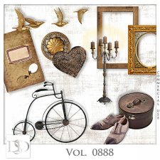 Vol. 0888 Vintage Mix by D's Design