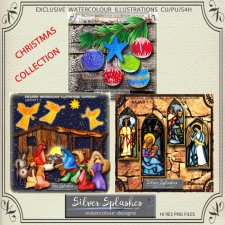EXCLUSIVE Christmas Collection by Silver Splashes