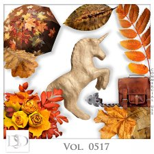 Vol. 0517 Autumn Nature Mix by D's Design