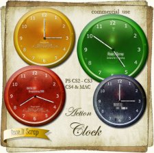 Action - Clock by Rose.li