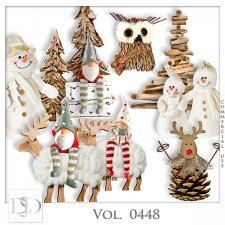 Vol. 0448 Winter Christmas Mix by D's Design