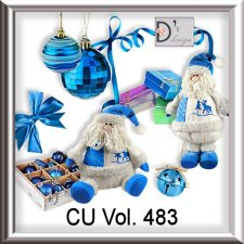 Vol. 483 Christmas Santa Mix by Doudou Design