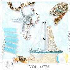 Vol. 0725 Summer Sea Mix by D's Design