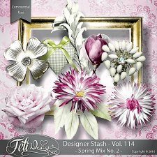 Designer Stash Vol 114 Spring Mix No 2 - by Feli Designs