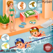 CU Vol 686 Swimming by Lemur Designs