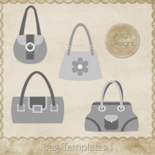 Bag Layered Templates 01 by Josy