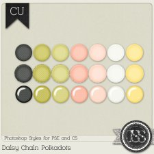 Daisy Chain Polkadots PS Styles by Just So Scrappy