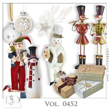 Vol. 0452 Winter Christmas Mix by D's Design
