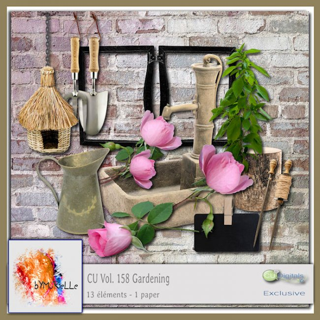 Vol 158 Gardening Elements EXCLUSIVE bymurielle