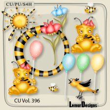 CU Vol 396 Bee Mix by Lemur Designs