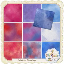 Patriotic Overlays EXCLUSIVE by PapierStudio Silke