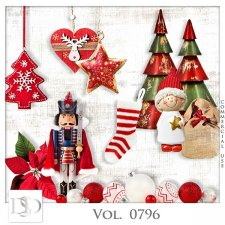 Vol. 0796 Winter Christmas Mix by D's Design