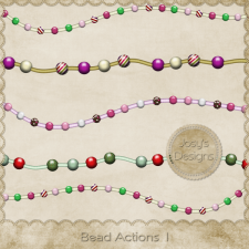 Bead Action 1 by Josy