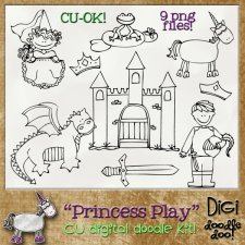 Princess Play - CU doodles