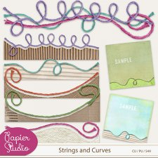 Strings and Curves EXCLUSIVE by PapierStudio Silke