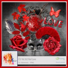Vol 163 Red Love EXCLUSIVE bymurielle
