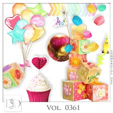 Vol. 0361 Party Mix by D's Design