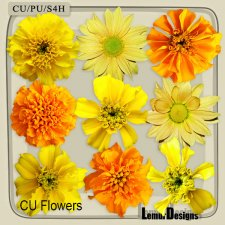 CU Vol 658 Flowers by Lemur Designs