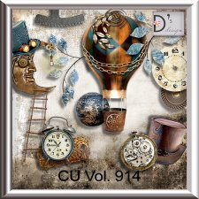 Vol. 914 Steampunk Mix by Doudou Design