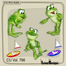 CU Vol 766 Frogs by Lemur Designs