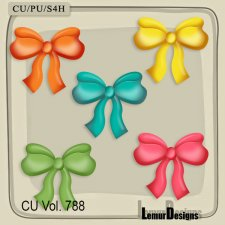 CU Vol 788 Bows by Lemur Designs