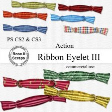 Action - Ribbon Eyelet III by Rose.li