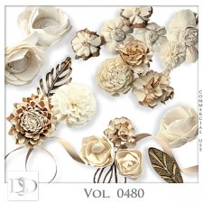 Vol. 0480 Floral Mix by D's Design