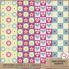 Pattern Genius Paper Volume Thirteen by Mad Genius Designs