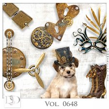Vol. 0648 Steampunk Mix by D's Design