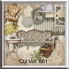 Vol. 861 vintage elements by Doudou Design