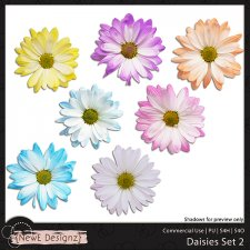 EXCLUSIVE Daisies Set 2 by NewE Designz