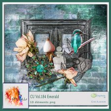 Vol. 184 Emerald EXCLUSIVE bymurielle