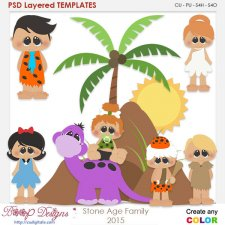 Stone Age Family Layered Element Templates