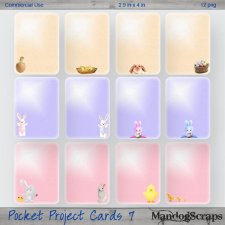 Pocket Project Cards 7 by Mandog Scraps