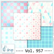 Vol. 957 Fifties papers by Doudou Design