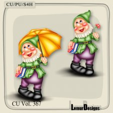 CU Vol 367 Gnome by Lemur Designs