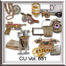Vol. 651 Steampunk Mix by Doudou Design