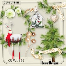 CU Vol 356 Christmas Winter by Lemur Designs