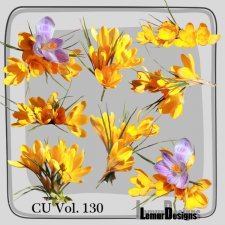 CU Vol 130 flowers by Lemur Designs
