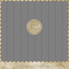Embossed Overlays 1 by Josy