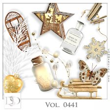 Vol. 0441 Winter Christmas Mix by D's Design