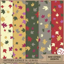 Pattern Genius Paper Volume Eighteen by Mad Genius Designs