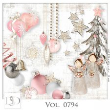 Vol. 0792 to 0794 Winter Christmas Mix by D's Design