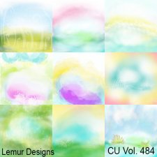 CU Vol 484 Colorful Summer Papers by Lemur Designs