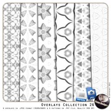 Overlays Collection 26 by MoonDesigns