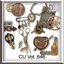 Vol. 646 Steampunk Mix by Doudou Design