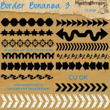 Border Bonanza 3 by Mandog Scraps