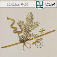Holiday Gold - CUbyDay EXCLUSIVE