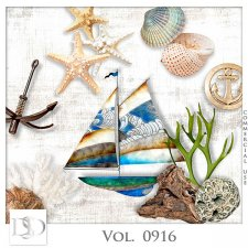 Vol. 0916 Summer Sea Mix by D's Design